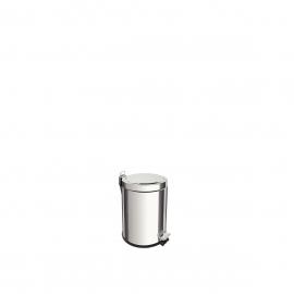 LIXEIRA INOX C/ PEDAL BRASIL 3 LTS