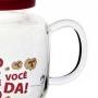 PIPOQUEIRA PARA MICROONDAS 2L VIDRO